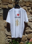 T-shirts with images of the goddess have sprung up all around Aidone.