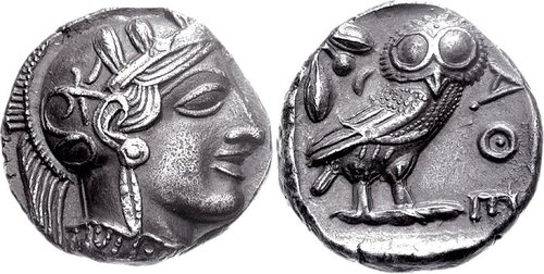 Athens Tetradrachm, ex Morcom Collection