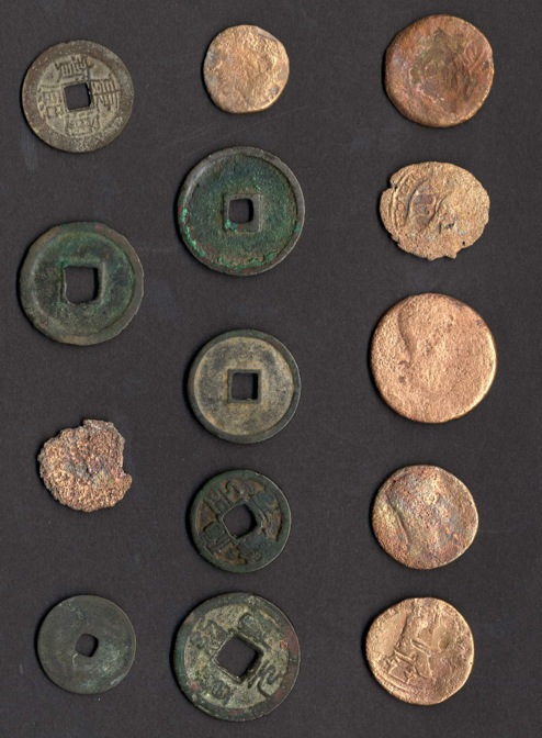The Ancient Coin Collector's Guild imported these Chinese and Cypriot coins into the United States to create a test case of the law barring their import.